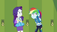 Rainbow Dash thinking of an excuse EGDS40