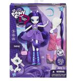 Rarity Equestria Girls doll Fashion Set package