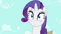 Rarity eye twitching S4E13