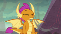 Smolder inhaling the sulfuric air S9E9
