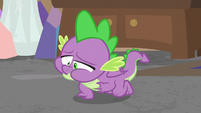 Spike having violent indigestion S8E25
