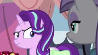 Starlight looks skeptically at Maud Pie S7E4