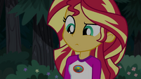 Sunset Shimmer looking confused EG4