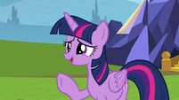 Twilight -you're doing great, Spike- S8E24