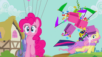 Twilight accidentally hitting Fluttershy S2E20