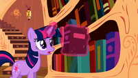 Twilight looking for a cure for the cutie pox S2E06