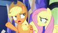 """Applejack """"it can't just be a loud, obnoxious party"""" S6E20.png"""