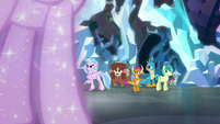 Astral Twilight appears before the Young Six S8E22