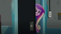 Cadance peering behind the door EG3.png