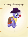 Clumsy Clownspony MLP Gameloft.png