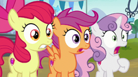 Cutie Mark Crusaders even more shocked S7E21
