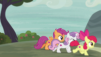 Cutie Mark Crusaders follow Big McIntosh S7E8