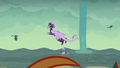 Dragon 1 flying out of the water S6E5.png