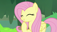 "Fluttershy ""really adds a shine to their coat"" S7E20"