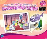 Lavender Spirit Airship promotion MLP mobile game