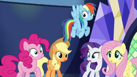 Main five hear Twilight's outburst S5E22