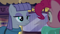 Maud Pie taking a comedic pause S8E3