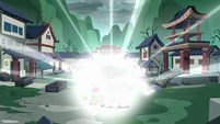 Mistmane glows blindingly bright S7E16