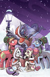 My Little Pony Holiday Special 2015 sub cover textless