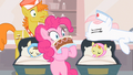 Nurse Redheart silencing Pinkie Pie S2E13.png