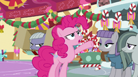 "Pinkie Pie ""am I the best at gift-giving?"" MLPBGE"
