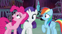 "Pinkie Pie ""like a secret lever"" S8E26"
