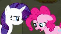 Pinkie Pie --make them be quiet-- S6E9