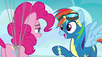 "Rainbow Dash ""is that cinnamon?"" S7E23"