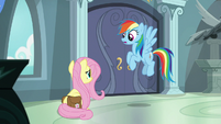 "Rainbow Dash ""trashes our friend"" S9E21"