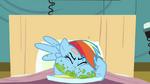 Rainbow Dash eating messily 3 S2E16