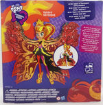 Rainbow Rocks Sunset Shimmer Time to Shine doll back of packaging