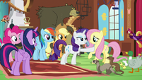 """Rarity """"he'd be thrilled to work with you"""" S7E5"""