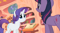 Rarity -may indeed be a problem- S1E08