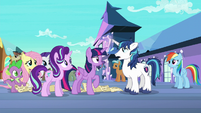 Shining Armor --haven't really slept since-- S6E1
