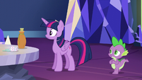 Spike calls Twilight jealous again S5E22