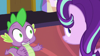 Starlight Glimmer briefly looks behind her S7E1