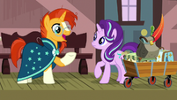 "Sunburst ""how have we never talked about this?"" S7E24"