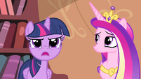 Twilight 'where exactly are Cadance and I headed' S4E11
