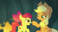 "Apple Bloom ""you mean Rockhoof?"" S7E16"