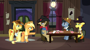 "Applejack ""it must've been Trouble Shoes!"" S5E6"