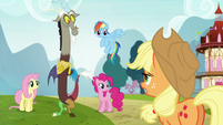 Applejack --I reckon you mean my sister-- S5E22