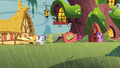 Applejack and Rarity gallop to the library S1E08.png
