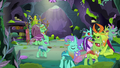 Changelings leaving the feelings forum S7E17.png
