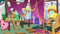 Construction ponies building the contest runway S7E9.png