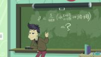 Cranky Doodle gives the students a pop quiz EGDS10
