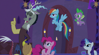 "Discord ""time is of the essence"" S9E17"