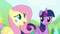 "Fluttershy ""Boulder seemed really sweet"" S4E18"