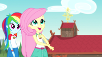 "Fluttershy ""lovely out here"" bloopers version EG4b"