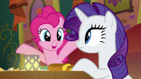 Pinkie Pie --just kablammed us-- S6E12