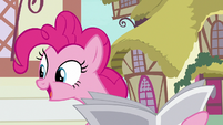 Pinkie Pie -that's great news!- S7E18